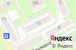 Схема проезда до компании Чародейка ПЛЮС в Перми