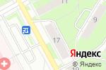 Схема проезда до компании БУлавка в Перми