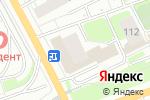 Схема проезда до компании TianDe в Перми