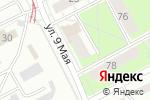 Схема проезда до компании Лик в Перми