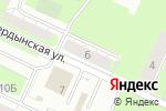 Схема проезда до компании Анна в Перми