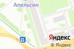 Схема проезда до компании Tuvils в Перми