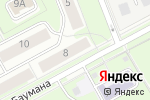 Схема проезда до компании Чистоград в Перми