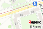 Схема проезда до компании Арсенал-Регион в Перми