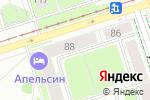 Схема проезда до компании Нотариус Бурдина Е.А. в Перми