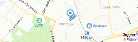 Средняя общеобразовательная школа №120 на карте Перми