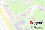 Схема проезда до компании Зеркала в Перми