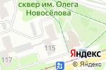 Схема проезда до компании Юридическая клиника в Перми