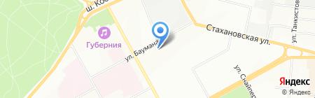 Детский сад №284 на карте Перми