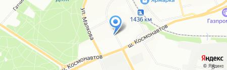 Птица на карте Перми