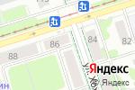 Схема проезда до компании Норман в Перми