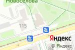 Схема проезда до компании SOVA в Перми