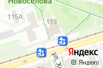 Схема проезда до компании Julius Meinl в Перми