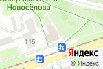 Схема проезда до компании Брамс в Перми
