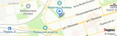 Амрита Тур на карте Перми