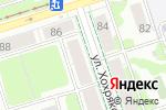 Схема проезда до компании Чудо студия в Перми