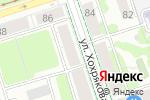 Схема проезда до компании Экономия здесь в Перми