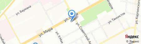 Аншлаг на карте Перми
