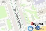 Схема проезда до компании Vape Shop #1 в Перми