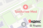 Схема проезда до компании ЮКОН-staff в Перми