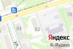 Схема проезда до компании Т-Офис в Перми