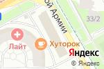 Схема проезда до компании Суши от Илюши в Перми
