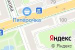 Схема проезда до компании Синклит Строй в Перми