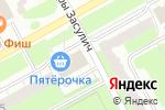 Схема проезда до компании Пятёрочка в Перми
