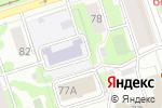 Схема проезда до компании Детский сад №268 в Перми