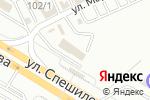 Схема проезда до компании Автосервис в Перми