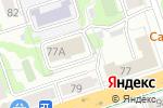 Схема проезда до компании ПАРМАЛОГИКА в Перми