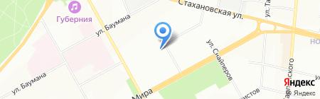 Детский сад №271 на карте Перми