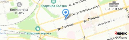 СТКС-Пермь на карте Перми