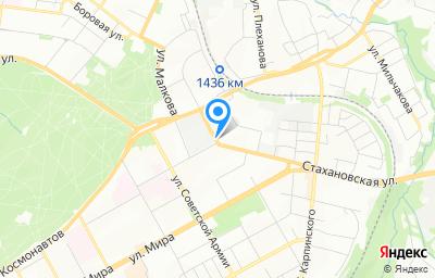 Местоположение на карте пункта техосмотра по адресу г Пермь, ул Стахановская, д 54Г