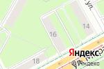 Схема проезда до компании Магия стиля в Перми