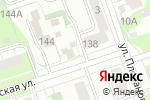 Схема проезда до компании Маня в Перми