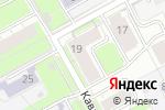 Схема проезда до компании Орбита Т в Перми
