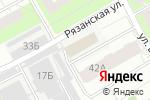 Схема проезда до компании Астен в Перми