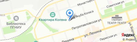 ЭЙ энд ДИ РУС на карте Перми