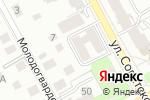 Схема проезда до компании ЖБК-Инвест в Перми