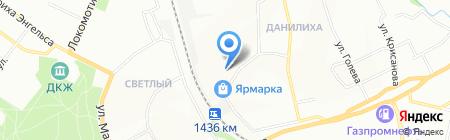 Портал на карте Перми