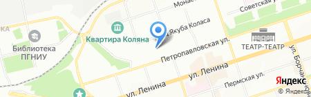 Детский сад №195 на карте Перми