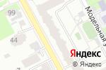 Схема проезда до компании М-Сервис в Перми