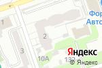 Схема проезда до компании Новиком-центр в Перми