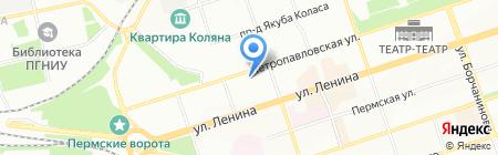 Юриал на карте Перми