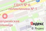Схема проезда до компании КамаРечТранс-плюс в Перми
