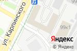Схема проезда до компании АвтоВозим в Перми