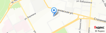 Детский сад №196 на карте Перми