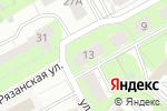 Схема проезда до компании Закусочная на Рязанской в Перми