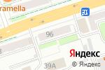 Схема проезда до компании Тиккурила в Перми